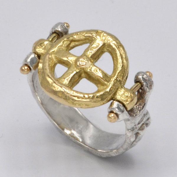 Bague Alceste or et argent