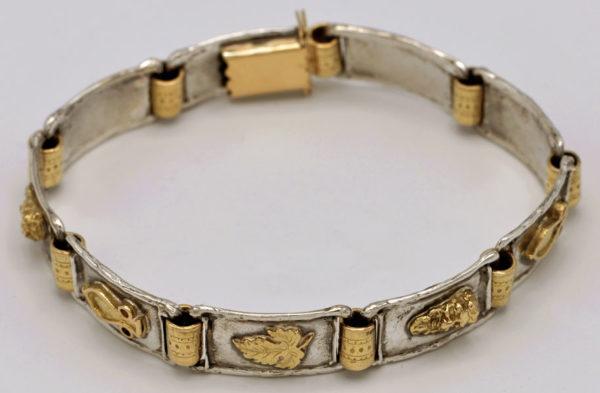 Bracelet vigneron