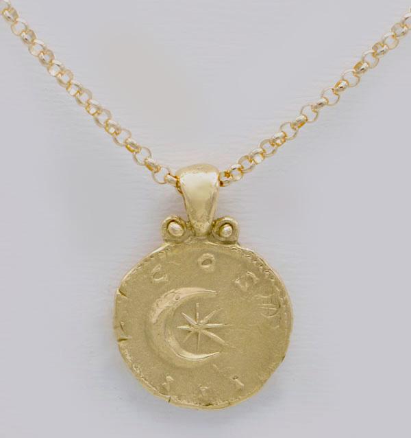 Médaille Lune et Soleil