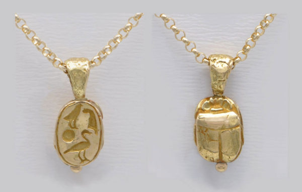 Pendentif Scarabée égyptien