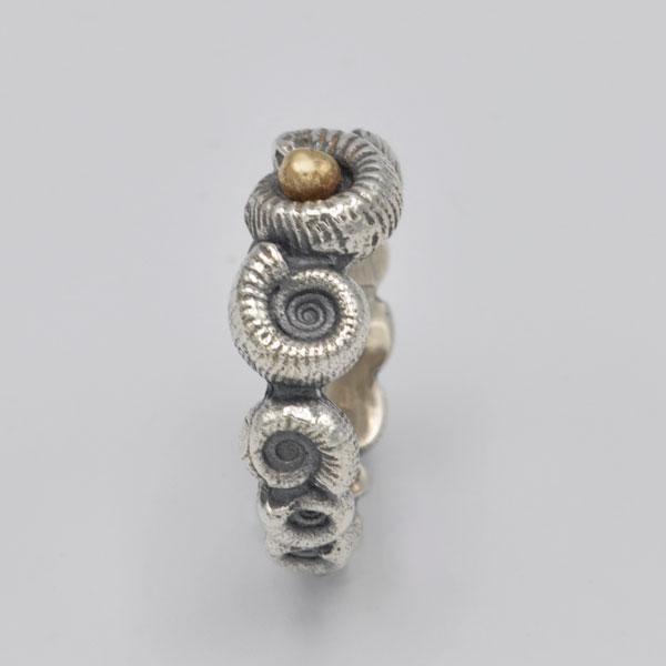 Bague ammonite