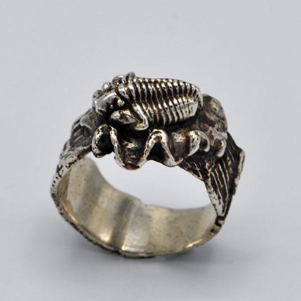 Bague trilobite