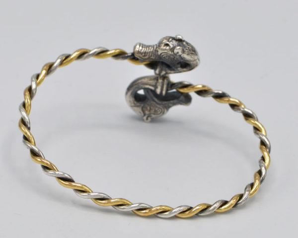 Bracelet-Tête de Loup