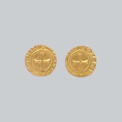 Boucles d'Oreilles croix Templier