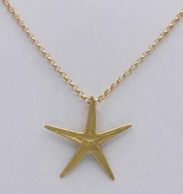 Pendentif étoile de mer