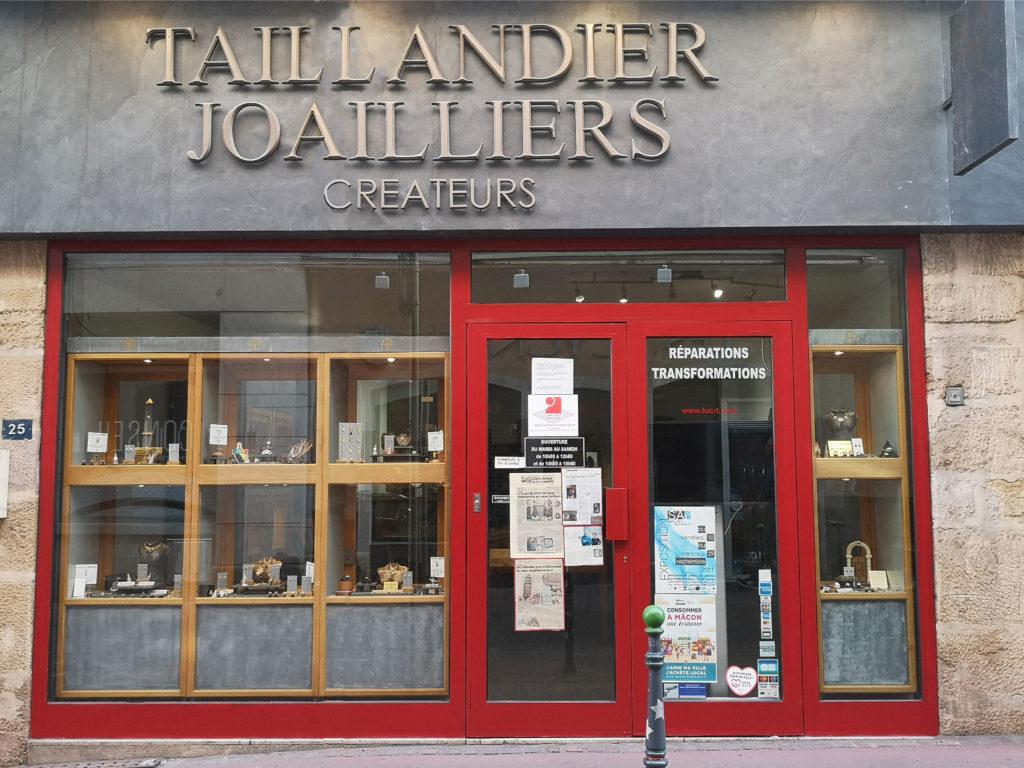 Boutique Taillandier joaillier Mâcon