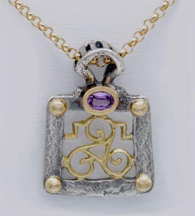Pendentif triskel celte