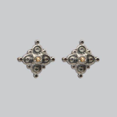 Boucles d'oreilles Narcisse
