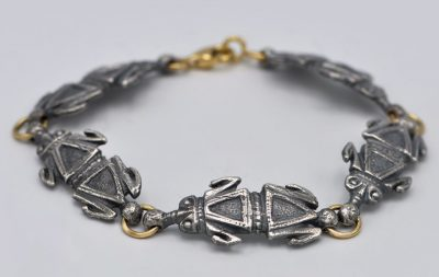 Bracelet grenouille romaine