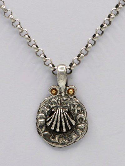 Médaille coquille Saint-Jacques