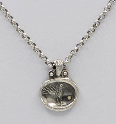 Médaille paon