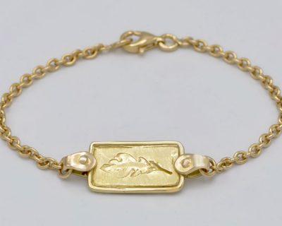 Bracelet feuille de chêne