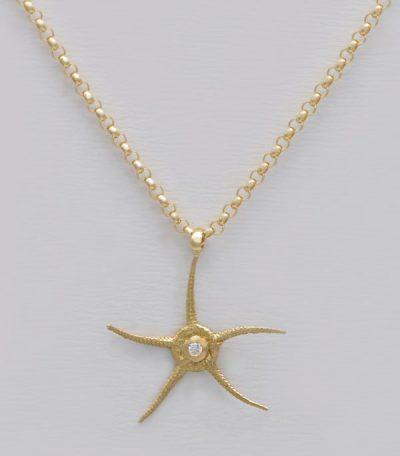 Pendentif étoile de mer Rodrigues
