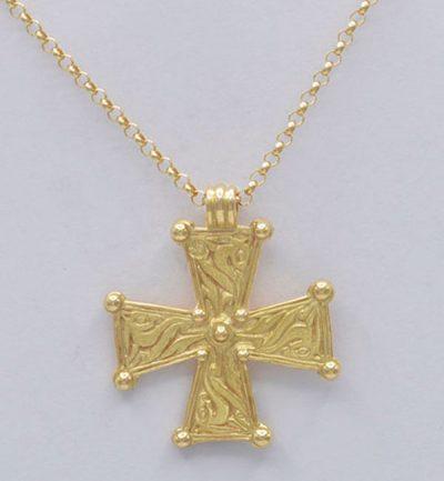 Croix mérovingienne